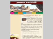 screenshot http://www.ensemble-humanitaire.com association humanitaire : ensemble humanitaire