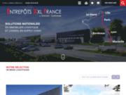 screenshot http://www.entrepots-xxl-france.com/ Immobilier logistique