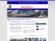screenshot http://www.entreprise-batisson.com pose couverture à kunheim, colmar, haut rhin 68