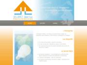 screenshot http://www.entreprise-villaret.com/ artisan électricien bergerac