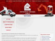 screenshot http://www.entreprisecarle-renovation84.com entreprise carle: maçonnerie générale