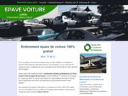 screenshot https://www.epave-voiture.fr/ Enlèvement épave voiture gratuit