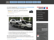 screenshot https://www.epaviste-lyon.com/ Épaviste gratuit et rapide à Lyon. Expérience de 15 ans.