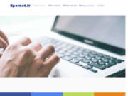 screenshot http://www.epernet.fr epernet, réalisation de sites internet à lyon.