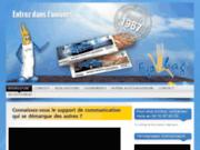 Publicité sur sac à pain - Epibag Bourgogne