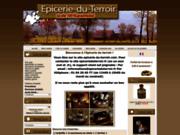 screenshot http://www.epicerie-du-terroir.com promotion produit terroir : epicerie du terroir