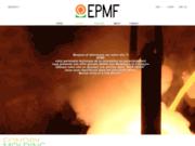 screenshot http://www.epmf.eu epmf, fournisseur fournderie et modelage
