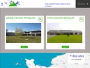 screenshot http://www.epms-laclairiere.fr epms la clairière - accueil