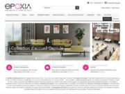 screenshot http://www.epoxia.com mobilier de bureau et mobilier direction