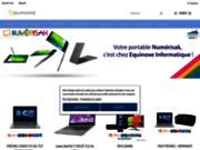 screenshot http://www.equinoxe.re equinoxe informatique : vente de matériel informatique, saint-pierre la réunion