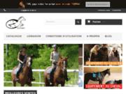 screenshot http://www.equitemps.fr equitemps sellerie en ligne