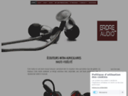 Ecouteurs intra auriculaires et in ear monitors Erdre Audio