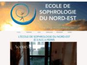 screenshot http://www.esne51.info Ecole de sophrologie du Nord Est