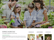 screenshot http://www.espace-agricole-03.fr L'Espace Agricole Lisa