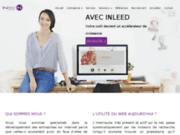 screenshot http://www.espace-beaute-coiffure.com french manucure à Vierzon
