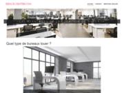 screenshot http://www.espace-center.com location de bureau équipé en centre d'affaires montpellier