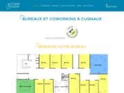 screenshot https://espace-coworking-cugnaux.fr/ espace de coworking à Cugnaux