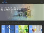 screenshot http://www.espace-protection.fr espace-protection.fr, professionnel des détecteurs