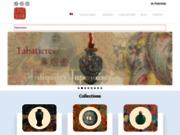 screenshot http://www.espace4.com espace4, galerie d'antiquités japonaises et chinoises à paris