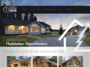 screenshot http://www.esprit-nature-bois.fr esprit nature bois. construction de maisons bois