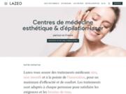 screenshot http://www.esthetique-paris.info bernard sillam, medecine esthétique et plastique, epilation laser
