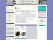 screenshot http://www.estouest-vaisselle.com d'est en ouest :  vaisselle et thé