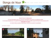 screenshot http://www.etangsdevaux.com les etangs de vaux