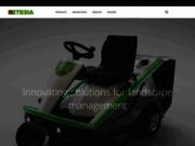 screenshot http://www.etesia.com tondeuses autoportées etesia
