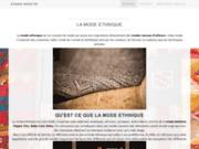 screenshot http://www.ethno-shop.fr boutique en ligne de déco, bijoux et vêtements