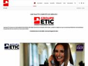 screenshot http://www.etic-groupe.com/etic/metier_securite.php?menu=metier conseil sécurité incendie et sécurité entreprise