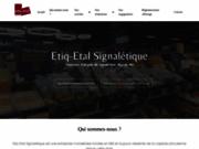 screenshot http://www.etiq-etal.com etiq-etal, etiquettes prix accessoires commerces a