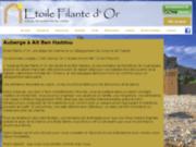 screenshot http://www.etoilefilantedor.com auberge etoile filante d'or