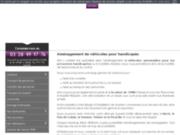 screenshot http://www.ets-lenfant.com/ assistance pour handicapés physiques : mobilité réduite
