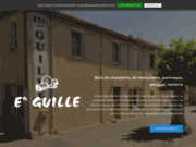 screenshot http://www.etsguille.fr menuiserie narbonne