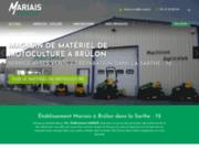 screenshot http://www.etsmariais.com ETS Mariais