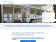 screenshot http://www.etude-barbera.com agence immobilière etude barbera