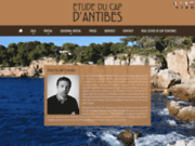Site officiel etude du cap antibes