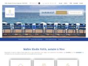 Maître Elodie NAVA, Notaire divorce à Nice