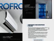 screenshot http://www.eurofroid.fr Installation Climatisation