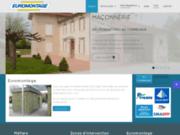 screenshot http://www.euromontage-81.fr rénovation, maçonnerie dans le tarn