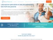 screenshot http://www.europaternite.com europaternite - test de paternité