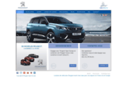 screenshot http://europauto.cn.com/ Location de véhicules Peugeot en Europe