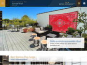screenshot http://www.europe-hotel-brest.fr hôtel best western brest