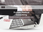 EUROPE MEDICAL CONSULTING solutions recrutement médical, installations de médecins, cession cabinet