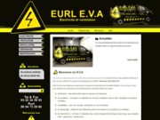 screenshot http://www.eva-electricite.com EURL EVA assure la conception et réalisation de circuit