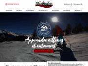 screenshot http://www.evadvous.com/ organisation de voyages scolaires au ski en savoie
