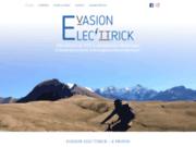 screenshot https://www.evasion-electtrick.com Randonnées en VTT électrique avec EVASION ELEC'TTRICK