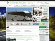 screenshot http://www.evasioncampingcar85.com camping car d'occasion