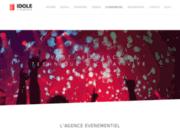 screenshot http://www.evenements-ekinoxe.fr/ agence ekinoxe