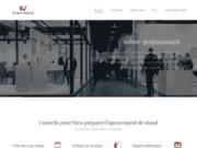 screenshot http://www.event-stand.fr/ event assure la création de votre stand d'exposition